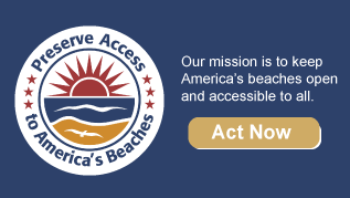 preserve beach access logo